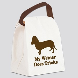 weiner4 Canvas Lunch Bag